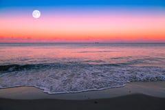 moonrise Стоковое Изображение RF