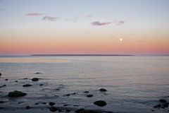 Moonrise Fotografie Stock Libere da Diritti