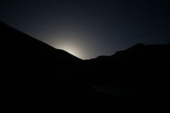 moonrise Стоковая Фотография RF