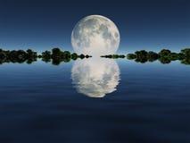 moonrise Foto de archivo libre de regalías