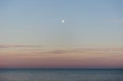 moonrise Lizenzfreie Stockfotografie