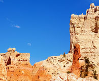 Moonrise in Bryce Canyon. Image of the moon rising over Bryce Canyon National Park Royalty Free Stock Image