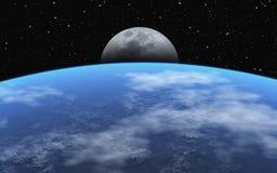 Moonrise Royalty Free Stock Image