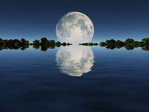 Moonrise Royalty Free Stock Photo