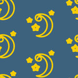 Moons Pattern Stock Photography