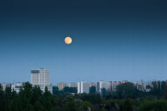 Moon′s perigee Stock Image