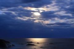 moonscape stockbild