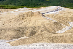 The moonscape Berca Mud Volcanoes Stock Image