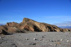 Moonscape in Death Valley Stock Photography