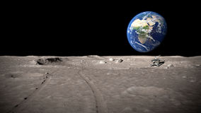 Moonscape Stock Image