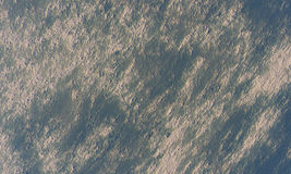 Moonscape orbit. High vantage point over a moon or planet Royalty Free Stock Image