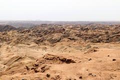 Moonscape jar - Namibia Afryka obraz royalty free