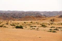 Moonscape jar - Namibia Afryka fotografia stock