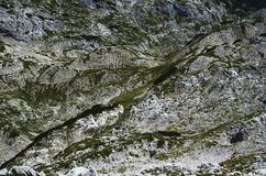 Moonscape in the mountains II., abstract, Julian Alps. Moonscape in the mountains, abstract, Julian Alps, Triglav National Park royalty free stock photography