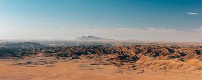 Moonscape Swakopmund, Namibia África de Namibia foto de archivo libre de regalías