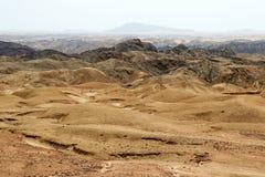 Moonscapecanion - Namibië Afrika stock afbeelding