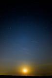 Moonset stock photos