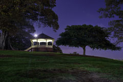 Moonshine at Observatory Hill Sydney Royalty Free Stock Photo