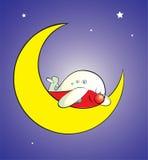 Moonsleeper Royalty Free Stock Image