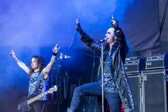 Moonspell chez Metalfest 2015 Photos stock
