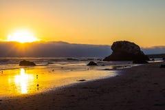 Moonstone Beach.  Royalty Free Stock Photography
