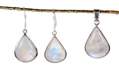 Moonstone Jewelery Stock Photography