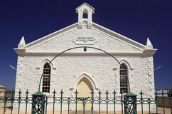 Moonta Methodist Church (Front Royalty Free Stock Image