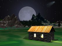 Moontime stock illustratie