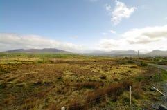 Moor fo conemara. Moor and meadow of conemara Stock Photography