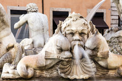 The Moor Fountain. Roma. Italy. Royalty Free Stock Images