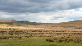 Moor landscape, Devon and Cornwall. A landscape photograph of the moors of devon and cornwall Royalty Free Stock Photos