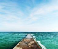 moorage morza Obrazy Royalty Free