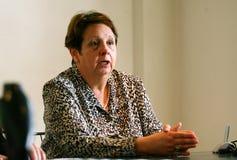 Moord van Florence Denefle in Guatemala stock fotografie
