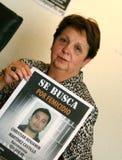 Moord van Florence Denefle in Guatemala royalty-vrije stock foto