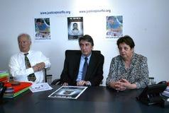 Moord van Florence Denefle in Guatemala stock afbeelding