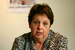 Moord van Florence Denefle in Guatemala royalty-vrije stock afbeeldingen