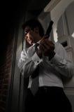 Moordenaar 21 van de agent stock foto's