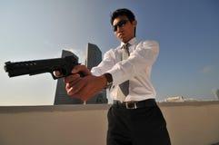 Moordenaar 38 van de agent Royalty-vrije Stock Foto's