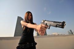 Moordenaar 40 van de agent Stock Fotografie
