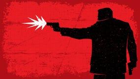 moordenaar Stock Afbeelding