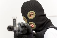 Moordenaar stock fotografie