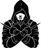 Moordenaar Fictional Character Silhouette stock illustratie