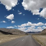 Moore-Ebenen, Leh-Ladakh lizenzfreie stockfotos