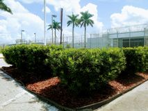 Moore Haven Correctional Facility imagens de stock royalty free