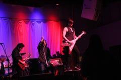 Moore (la guitarra de la ventaja) Imagen de archivo libre de regalías