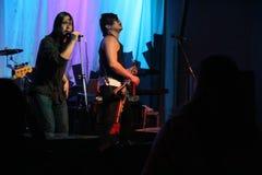 Moore (la guitarra de la ventaja) Fotografía de archivo