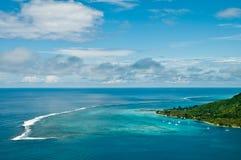 moorea лагуны острова Стоковое Фото