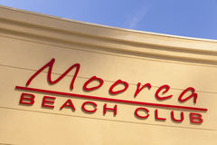 Moorea Beach Club in Las Vegas, NV on April 19, 2013 Royalty Free Stock Photo
