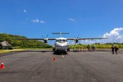 Moorea flygplats Arkivfoton