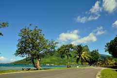 Moorea, francuski Polynesia fotografia stock